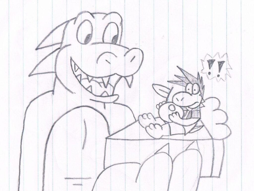 Hungry Dino #1