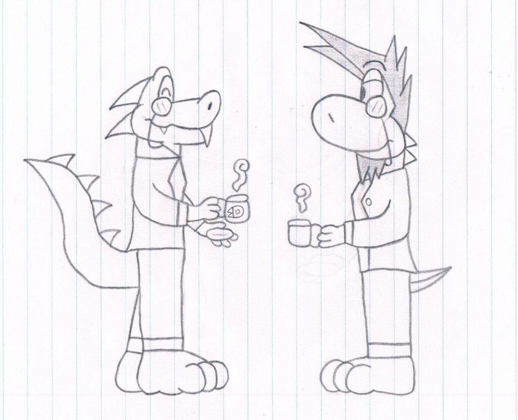 Fancy Dino and Fancy Yash