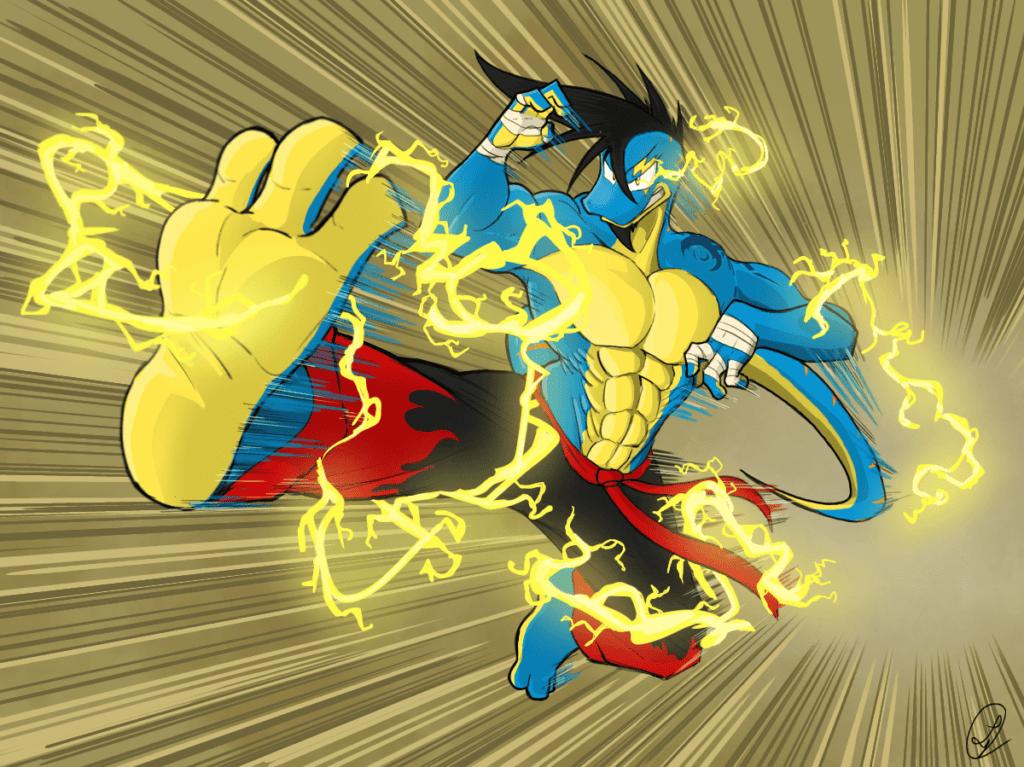 Electric kick